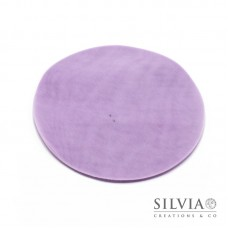 Disco in tulle color lilla da 230 mm x10pz