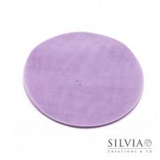 Disco in tulle color lilla da 230 mm x10pz