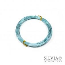 Filo in alluminio azzurro 1 mm x 10m