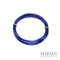 Filo in alluminio blu 1 mm x 10m