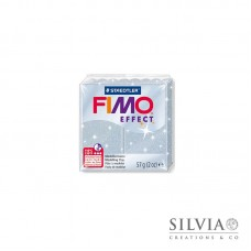 Fimo Effect 57 g color glitter argento (n812)