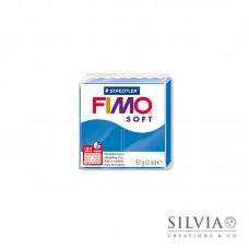 Fimo Soft 57 g color blu pacifico (n37)