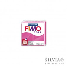 Fimo Soft 57 g color lampone (n22)