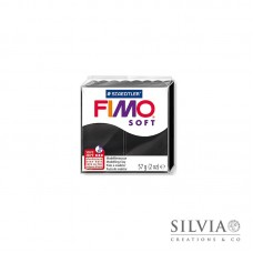 Fimo Soft 57 g color nero (n9)