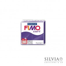 Fimo Soft 57 g color prugna (n63)