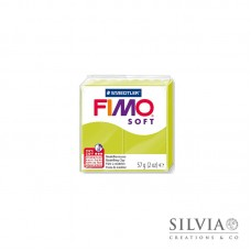Fimo Soft 57 g color verde limone (n52)