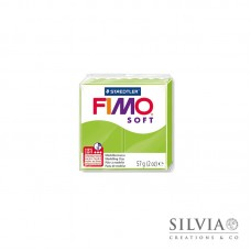 Fimo Soft 57 g color verde mela (n50)