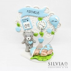 Albero della vita idea regalo nascita bimbo - 12 cm