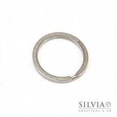 Anello portachiavi in acciaio da 30 mm