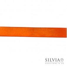 Nastro doppio raso arancio 15 mm x 1m