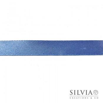 Nastro doppio raso azzurro carta da zucchero 15 mm x 50 m