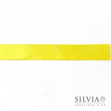 Nastro doppio raso giallo 15 mm x 1m