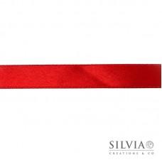 Nastro doppio raso rosso 15 mm x 1m