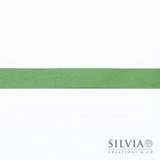 Nastro doppio raso verde 15 mm x 50m