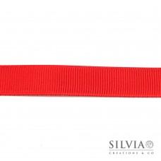 Nastro grosgrain rosso 15 mm x 1m