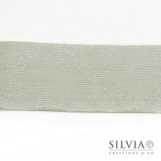Nastro cotone lurex panna 60 mm x 1m