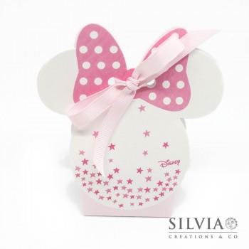Scatolina Minnie mouse con stelle per bomboniere