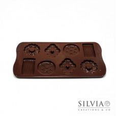 Stampo Silikomart biscotti - Choco Biscuits