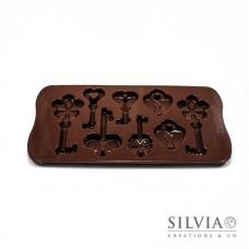 Stampo Silikomart chiavi - Choco Keys